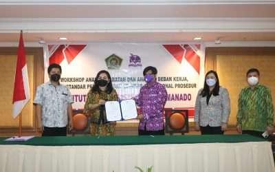 Penandatanganan MoU antara IAKN MANADO dan Himpunan Psikologi Indonesia Wilayah SULUT