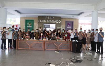 IAKN Manado Dipilih Sebagai Pilot Project Penilaian ZI menuju WBK/WBBM