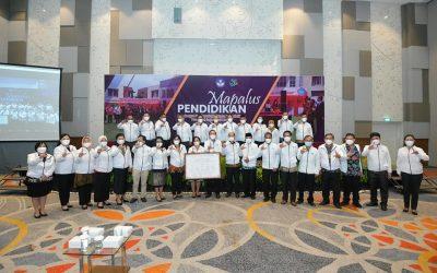 IAKN Manado dan Lembaga Penjaminan Mutu Pendidikan (LPMP) Prov. Sulut Tanda Tangan Komitmen Bersama Mapalus Pendidikan