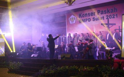Gelar Konser Paskah 2021, Badan Musyawarah Perbankan Daerah Sulawesi Utara undang PSM IAKN Manado