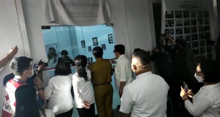 UKM Palang Merah Indonesia IAKN Manado Ikuti Peresmian Gedung PMI Kota Manado