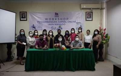 Terus Tingkatkan Kualitas, LP2M IAKN Manado Gelar Workshop Jurnal Online