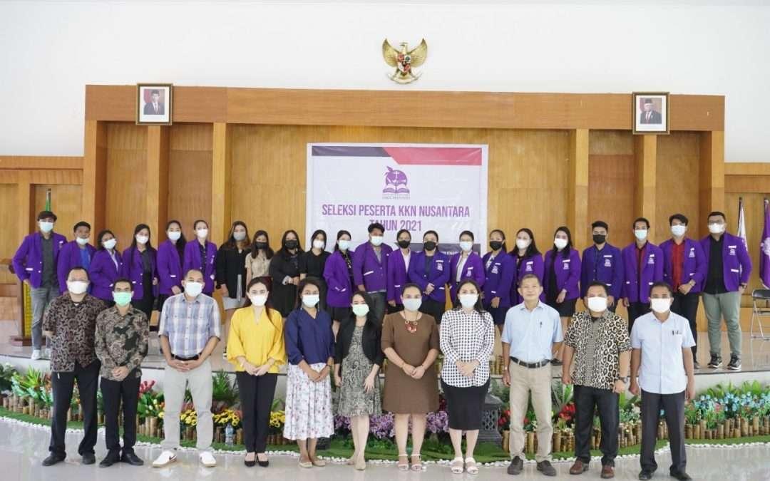 31 Mahasiswa IAKN Manado Ikuti Seleksi Dalam Rangka KKN Nusantara Tahun 2021