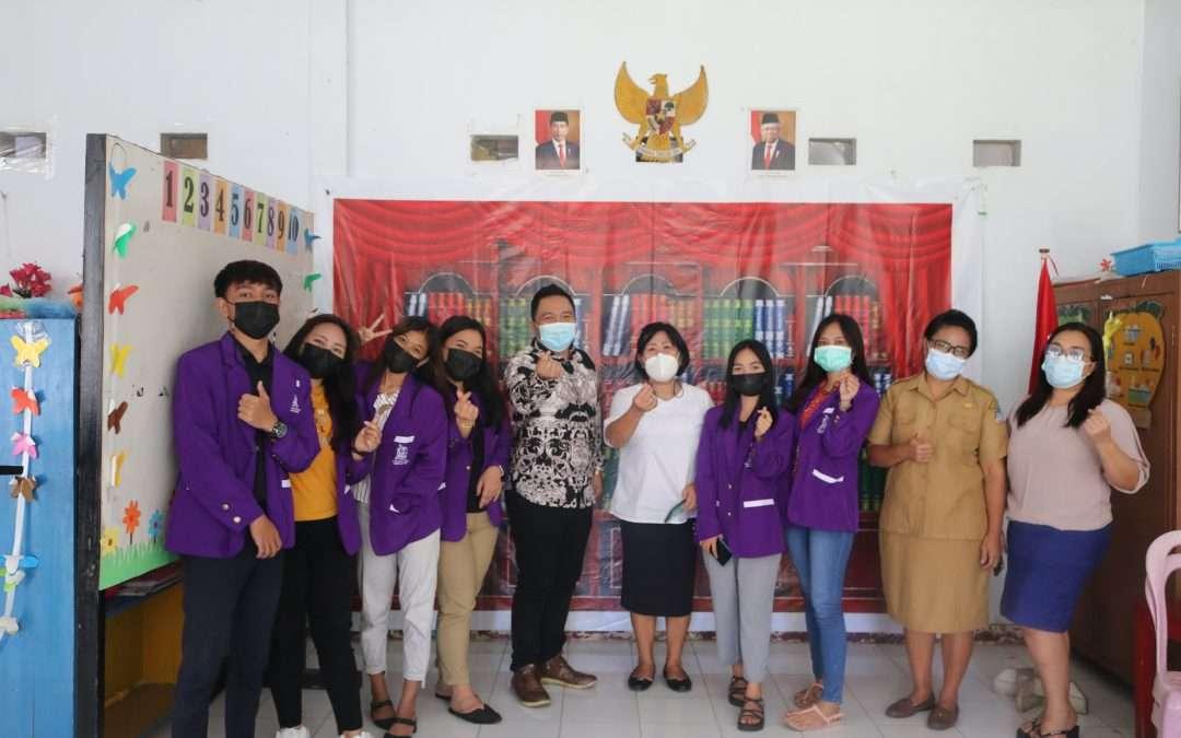 Himapro MPK dan PKAUD FIPK IAKN Manado Wujudkan Tri Dharma Perguruan Tinggi di TK GMIM Eben Haezar Bumi Beringin