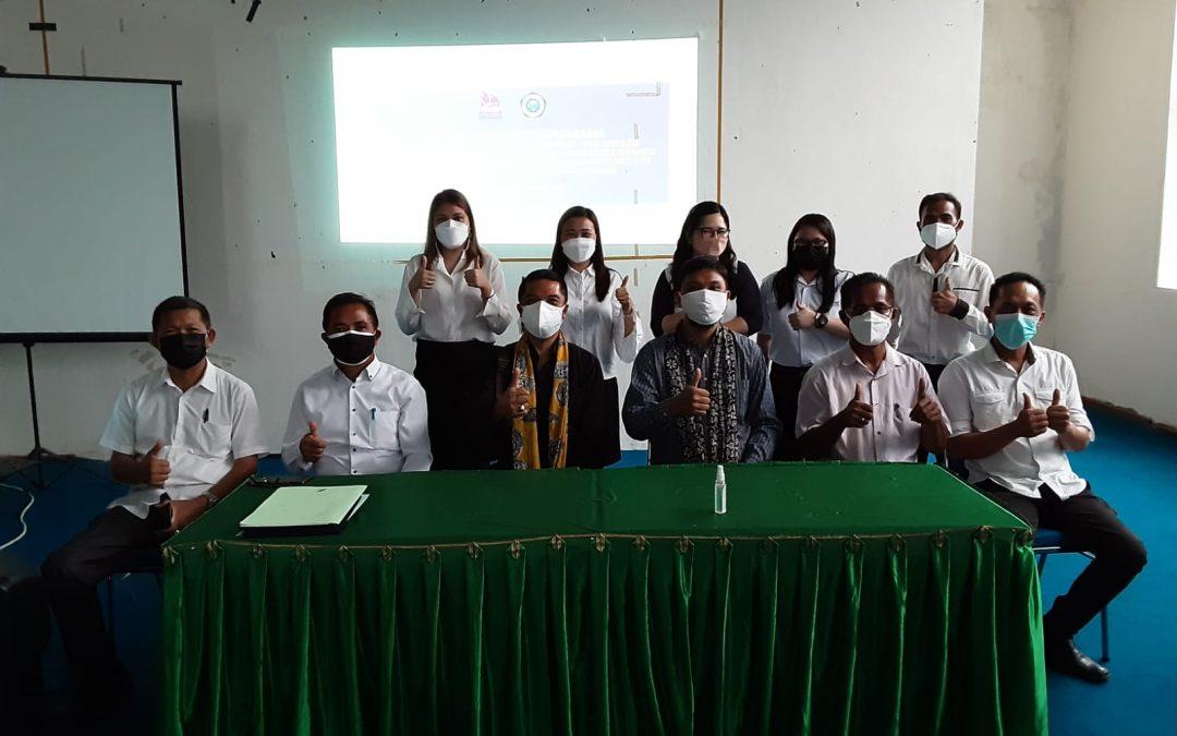 Fakultas Seni dan Ilmu Sosial Keagamaan bersama Ketiga Prodi-nya Jalin Kerjasama dengan SMK Nusantara Manado
